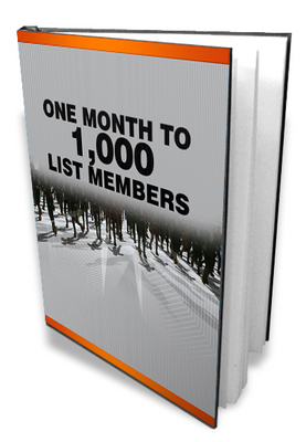Product picture OneMonth to1000 list members-Make more money